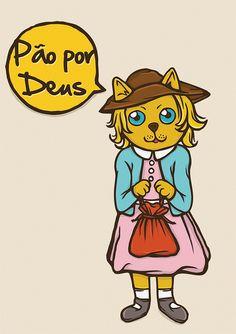 Pão por Deus by Casa Ruim, via Flickr