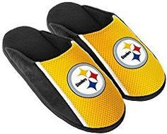 52290dbb8a3 Pittsburgh Steelers NFL Mens Jersey Slide Slipper Adult Sizes (M) Nfl  Steelers