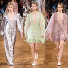 Stella McCartney – Ready to Wear – Passarelando Stella Mccartney, Fashion Week 2018, Ready To Wear, Cover Up, Dresses With Sleeves, Long Sleeve, How To Wear, Sport Style, Spring Collection