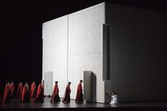Christian Schmidt gives insight into concept and setting of Aida staged by visual artist Shirin Neshat Christian Schmidt, Shirin Neshat, Stage Design, Set Design, Artist, August 25, Salzburg, Iranian, 3