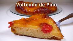 Volteado de Piña ✔️  RECETA CASERA. Deliciosa y muy fácil de hacer  No t... The Creator, French Toast, Cheesecake, Breakfast, Desserts, Food, Youtube, New Recipes, Easy Recipes