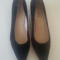 Michael Kors Black pointy heels never really wore them. Michael Kors Shoes