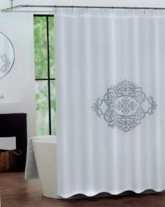 30 Best Embroidered Shower Curtains Images On Pinterest