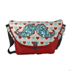 ==>>Big Save on          	BLUE RED MUSTACHE AND HEARTS GLITTER COURIER BAGS           	BLUE RED MUSTACHE AND HEARTS GLITTER COURIER BAGS We have the best promotion for you and if you are interested in the related item or need more information reviews from the x customer who are own of them befor...Cleck Hot Deals >>> http://www.zazzle.com/blue_red_mustache_and_hearts_glitter_courier_bags-210604796231661948?rf=238627982471231924&zbar=1&tc=terrest