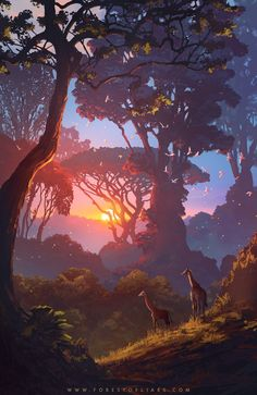 Umeshu Lovers  @UmeshuLovers   Sunset, dusk and night in the Forest of Liars.