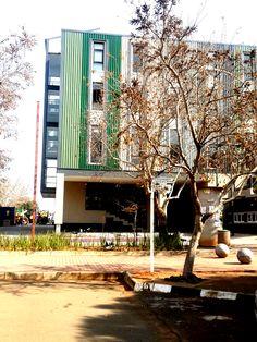 University of the Free State,  #UFStoday - Bloemfontein Campus,  Mathematical Sciences Building (Photo Credit: Lelanie de Wet)