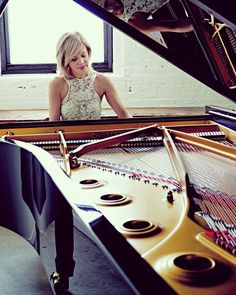 """Steinway‬ is the magical medium through which a pianist communicates with the composer's mind and soul."" - Olga Kern, Steinway Artist (photo taken at the Steinway & Sons piano factory in NYC)"