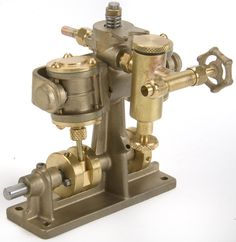 Clyde Twin Cylinder Oscillating Steam Marine Engine with lubricator kit