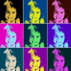 Turn your favourite family photo into a pop art poster simply by using free digital filters - read how!