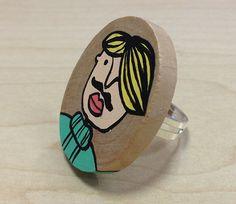 #anello by Stak Prezzo: 12,00 € Prezzo promo: 8,40 € #ring #gioielli #accessori #jewelry #accessories #handmade #wood #legno #madeinitaly