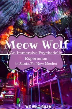 meow-wolf-santa-fe-new-mexicoYou can find New mexico and more on our website.meow-wolf-santa-fe-new-mexico New Mexico Road Trip, New Mexico Vacation, Travel New Mexico, New Mexico Style, Tennessee Vacation, Vacation Places, Family Vacations, Cruise Vacation, Vacation Destinations