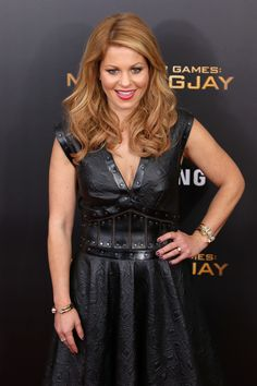 Candace Cameron attends the 'The Hunger Games: Mockingjay- Part 2' New York premiere at AMC Loews Lincoln Square 13 theater on November 18, 2015 in New York City.