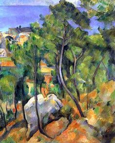 Estaque Paul CEZANNE (1839-1906)