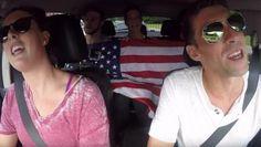 Allison Schmitt and Michael Phelps duet in 'Carpool Karaoke'