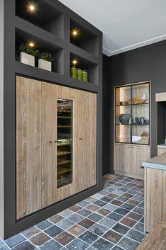 Rustic Kitchen Design, Interior Design Kitchen, Modern Farmhouse Kitchens, Home Kitchens, Küchen Design, House Design, 2 Bedroom House Plans, House Extension Design, Indian Home Interior