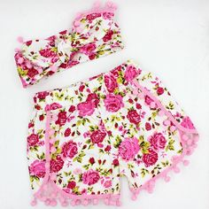 SALE Was $15.95 Now $12.95Includes Shorts and Matching Head Wrap*Pick up available from Aubin Grove WA 6164*ENTER CODE: PICKUPFROMAUBINGROVE and shipping costs will be removed.Li'l Flower Shorts Set*Some slight colour variations may be noticed from computer/device screens to that of the actual item*