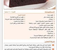 وصفة كيك فادج الشوكولا بالخطوات #حلويات -2 Cooking Cream, Creative Food, Deserts, Container, Beef, Meat, Postres, Dessert, Steak
