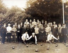 Discover Golden Gate Park Lawn Bowling Club in San Francisco, California: The oldest lawn bowling club in the United States. Picnic Set, Golden Gate Park, Long Gloves, Back In The Day, Bowling, Lawn, Dolores Park, San Francisco, Club