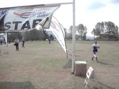 Trail running in Dundee 2015 South Africa