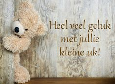 Dutch Quotes, Animals And Pets, Birthday Cards, Crafts For Kids, Teddy Bear, Letters, Sayings, Words, Pets