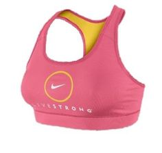 Nike Livestrong Women's Pro Compression logo sports bra. I have this and it's so comfy!
