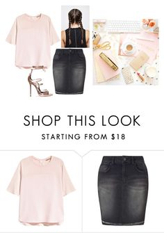 """""""Untitled #14088"""" by jayda365 ❤ liked on Polyvore featuring H&M and Miss Selfridge"""