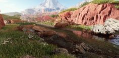 3ds max, epic games, unreal engine 4, ue4, speedtree, gamedev, game development, game industry, indiedev, uncharted, uncharted 4