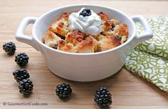 Gourmet Girl Cooks: Blackberry Crumble - Low Carb & Sugar Free