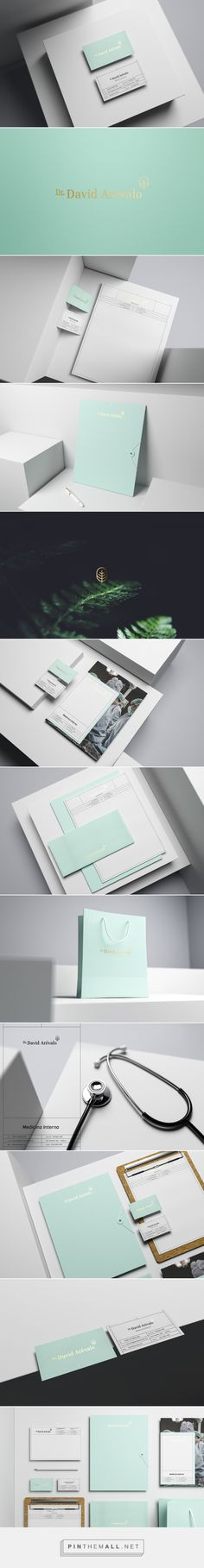 Dr. David Arévalo Branding by Menta Picante | Fivestar Branding Agency – Design and Branding Agency & Curated Inspiration Gallery