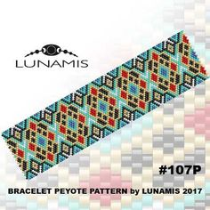 PDF FORMAT / PATTERN ONLY. Create this beautiful peyote cuff bracelet.. Miyuki Delica Beads size 11/0 Odd count with 6 bead colors. 31 bead columns by 95 bead rows. Width: 1.6 (4,2 cm) Length: 6.6 (16,7 cm) Patterns include: - Large colored numbered graph paper (and non-numbered in another files) - Bead legend (numbers and names of delica beads colors ) - Word chart - Pattern preview This pattern is intended for users that have experience with odd count peyote and the pattern it...