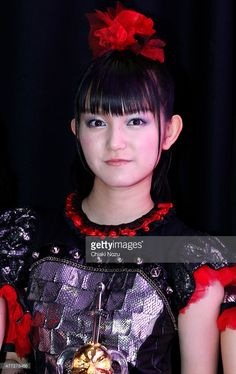 Su-metal of Babymetal attends the Metal Hammer Golden Gods awards on June 15, 2015 in London, England.