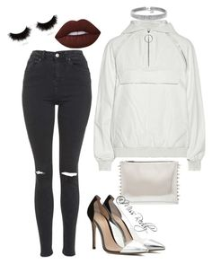 """""""Untitled #125"""" by missreddy on Polyvore featuring Topshop, Alexander Wang, Lime Crime, shu uemura, Gianvito Rossi and Bling Jewelry"""