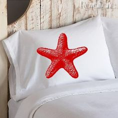 Red Lobster Pillowcase Nautical Decor Coastal Cotton Pillowcase Pillow case cover ocean sea decor beach room bedroom gift ideas NEW Red Octopus, Ship Anchor, Vintage Nautical, Nautical Theme, Nautical Prints, Old Boats, Red Lobster, Lobster Bake, Ruby Red