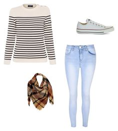 """at the fam's house havin a grand time"" by mrsbieber123-396 ❤ liked on Polyvore featuring Saint James, Converse, Glamorous and Sylvia Alexander"