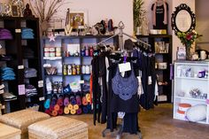 Our beautiful Arlington boutique!  Filled with treasures and yoga accessories to take hOMe with you.