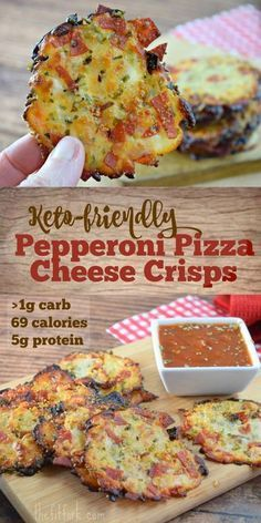 Dinner Recipes low carb Keto-friendly Pepperoni Pizza Cheese Crisps Forget delivery or takeout . and all of the carbs, you can make my keto-friendly, crunchy cheese snack in less than 10 minutes. Healthy Diet Recipes, Ketogenic Recipes, Low Carb Recipes, Cooking Recipes, Low Carb Food, Low Carb Snack Ideas, Keto Diet Foods, Healthy Low Carb Meals, Smoothie Recipes