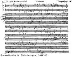 ''Divertimento'' string quartet, historical sheet music, manuscript, by Franz Joseph Haydn'
