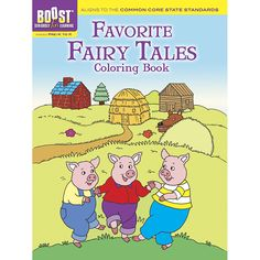 BOOST FAVORITE FAIRY TALES COLORING