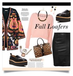 """""""Perfect Pair:  Fall Loafers"""" by judysingley-polyvore ❤ liked on Polyvore featuring H&M, Glamorous, Yves Saint Laurent, River Island and fallloafers"""