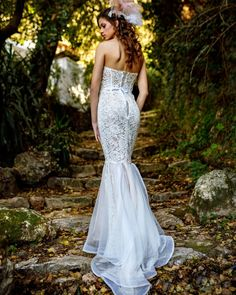 "SL by Leonidas Giannopoulos on Instagram: ""Lace wedding dress!! By @sl_by_leonidasgiannopoulos  Designer @leonidas_giannop  Model @roy_pispa  Photo @stelios.kritikakis  Hair…"" Mermaid, Formal Dresses, Instagram, Fashion, Dresses For Formal, Moda, Formal Gowns, Fashion Styles, Formal Dress"