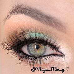 White,Mint and Brown   @maya_mia_y
