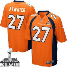 35 Best Steve Atwater Jersey: Authentic Broncos Women's Youth Kids  supplier