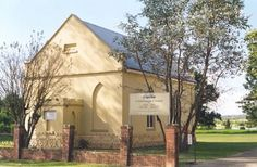 Castlereagh Chapel, 297-305 Old Castlereagh Road, CASTLEREAGH NSW.  Site of the first Wesleyan Chapel built in Australia, 1817