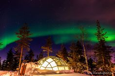 Kakslauttanen Arctic Resort - Truly 'Once-in-a-lifetime' - Bruised Passports. Stunning Northern Lights and hundreds of stars over our igloo at Kakslauttanen Arctic Resort