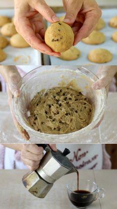 Biscotti al caffè, ricetta facile e veloce per preparare questi deliziosi dolcetti.