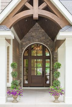 Real Fit Housewife: Welcome to my Home: Our Little Slice of Heaven   This front entry & front door were so important to me.  I felt like it set the tone for the entire house!
