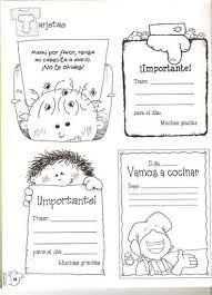 Resultado de imagen para notas para cuadernos de comunicados nivel inicial