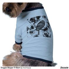 Doggie Ringer T-Shirt Doggie Shirt