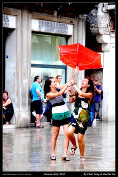Raining in Venice...