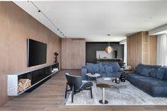 Contemporary Apartment, Pent House, Living Room Designs, Blush, Loft, Interior Design, Tel Aviv, Table, Inspiration